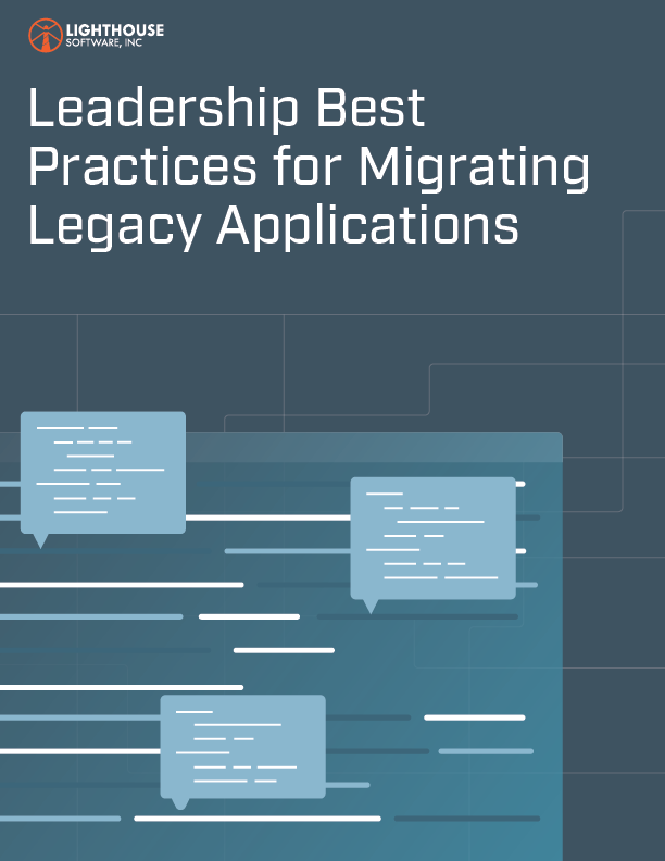 Leadership Best Practices for Migrating Legacy Applications Cover